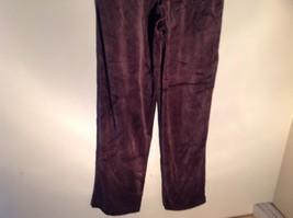 Brown Zip Up Hannah Sweatshirt  Size Medium soft fleece w matching bottoms image 10