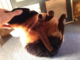 Buri  Palm Fiber Pig  Brush Animal Eco Fiber Sustainable Made in Philippines image 6