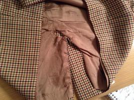 Brown Plaid Size 4 Liz Claiborne Classics Skirt Fully Lined Back Zipper Closure image 7