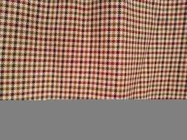 Brown Plaid Size 4 Liz Claiborne Classics Skirt Fully Lined Back Zipper Closure image 3