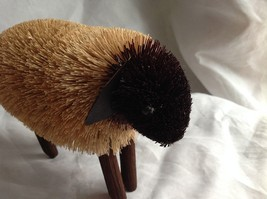 Buri  Palm Fiber Sheep Brush Animal Eco Fiber Sustainable Made in Philippines image 2