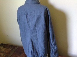 Button Down Blue 100 Percent Cotton L L Bean Long Sleeve Shirt Size L Regular image 4