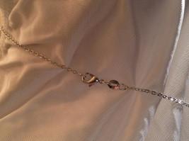 CZ Stone Snowflake Pendant Silver Necklace Lobster Clasp Closure image 6