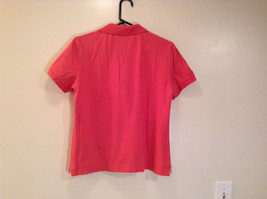 Carhartt Size Large Red Short Sleeve Cotton Blend Polo Shirt image 5