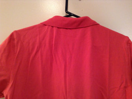 Carhartt Size Large Red Short Sleeve Cotton Blend Polo Shirt image 6