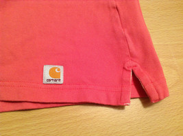 Carhartt Size Large Red Short Sleeve Cotton Blend Polo Shirt image 9