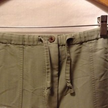 Caribbean Joe Womans Olive Green Pants, Size Medium image 6