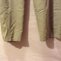 Caribbean Joe Womans Olive Green Pants, Size Medium image 4