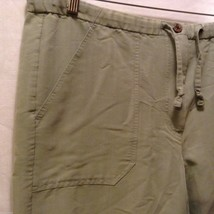 Caribbean Joe Womans Olive Green Pants, Size Medium image 7