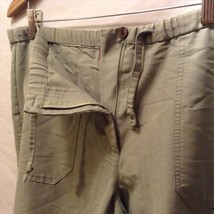 Caribbean Joe Womans Olive Green Pants, Size Medium image 9