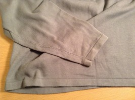 Calvin Klein V Neck Gray Long Sleeve 100 Percent Cotton Sweater Size Large image 6