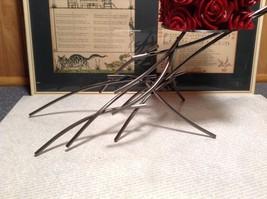 Candle Stand Girardini Steel Handmade Artistic Welded Art Artisan image 2