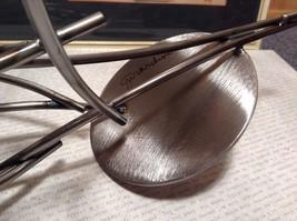 Candle Stand Girardini Steel Handmade Artistic Welded Art Artisan image 7