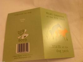 Canine Gift Greeting Card  DOG IS GOOD What Happens @ Dog Park Stays @ Dog Park image 2