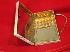 Capiz vintage square handbag for cosmetics image 8