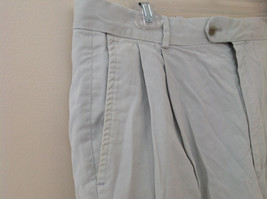 Carnoustie Khaki Pleated 4 Pocket Dress Shorts Size 36 image 3