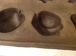 Cast Iron Cookie Mold Heavy Bake 8 Different Shaped Cookies or Muffins image 6
