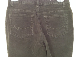 Casual Green Pants by St Johns Bay Stretch Front and Back Pockets Size 6 image 7