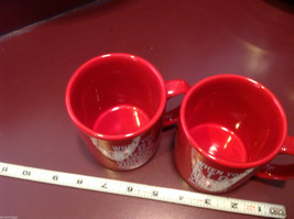 Ceramic Red Coffee Mug When You Stop Believing in Santa You Get Underwear image 2