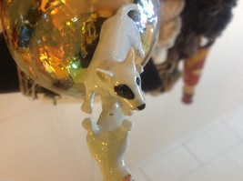 Ceramic miniature dog Staffordshire pit bull terrier standing image 6