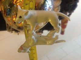 Ceramic miniature dog Staffordshire pit bull terrier standing image 7