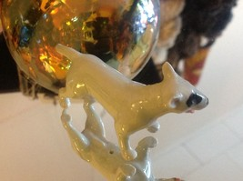 Ceramic miniature dog Staffordshire pit bull terrier standing image 5