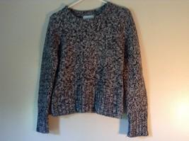 Chadwicks Black and White Long Sleeve 100 Percent Acrylic Sweater Size Small image 3