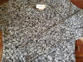 Chadwicks Black and White Long Sleeve 100 Percent Acrylic Sweater Size Small image 6