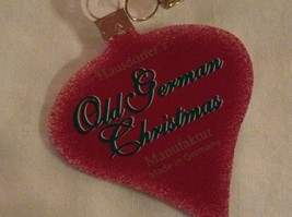 Champagne gold violin  Glass Holiday Tree Ornament Old German Christmas image 6
