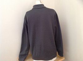 Champion Gray Zip Up Track Jacket Heather Gray Stripes Made in Jordon Size XL image 5