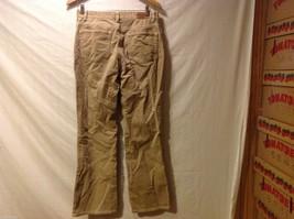 Chaps Womans Tan Corduroy Pants image 2