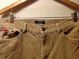 Chaps Womans Tan Corduroy Pants image 3