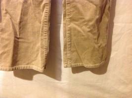 Chaps Womans Tan Corduroy Pants image 4
