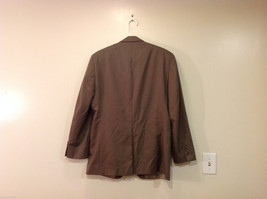 Chaps Two Buttons Brown wit Gray Hue 100% Wool Suit Jacket, Size 40R image 2