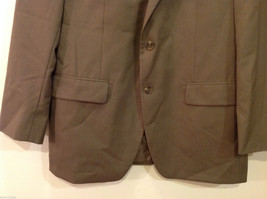 Chaps Two Buttons Brown wit Gray Hue 100% Wool Suit Jacket, Size 40R image 4