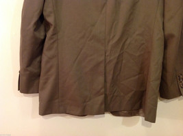 Chaps Two Buttons Brown wit Gray Hue 100% Wool Suit Jacket, Size 40R image 6