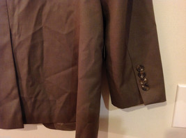 Chaps Two Buttons Brown wit Gray Hue 100% Wool Suit Jacket, Size 40R image 7