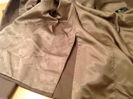 Chaps Two Buttons Brown wit Gray Hue 100% Wool Suit Jacket, Size 40R image 10