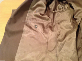 Chaps Two Buttons Brown wit Gray Hue 100% Wool Suit Jacket, Size 40R image 9