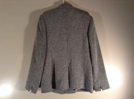 Chantal Rosner France Gray Suit Jacket 2 Front Faux Pockets 2 Button Closure image 5