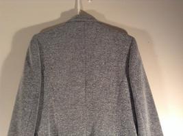 Chantal Rosner France Gray Suit Jacket 2 Front Faux Pockets 2 Button Closure image 6