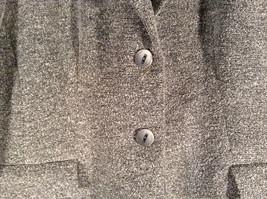 Chantal Rosner France Gray Suit Jacket 2 Front Faux Pockets 2 Button Closure image 4