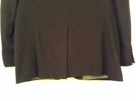 Chaps Black Size 42R Fully Lined Suit Jacket Blazer Two Button Closure image 6