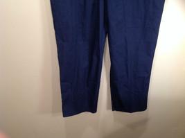 Cherokee Workwear Dark Blue Uniform Work Pants Stretchy Waist Size L NEW image 3