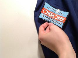 Cherokee Workwear Dark Blue Uniform Work Pants Stretchy Waist Size L NEW image 8