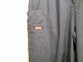 Cherokee Workwear Dark Blue Uniform Work Pants Stretchy Waist Size L NEW image 5