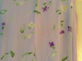Cherokee Light Purple with Flowers Sleeveless Dress Perfect for Summer Size M8 image 3