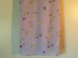 Cherokee Light Purple with Flowers Sleeveless Dress Perfect for Summer Size M8 image 4