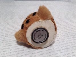 Cheetah Head Mini Refrigerator Magnet Recycled Rabbit Fur image 6