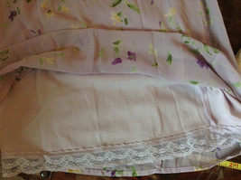 Cherokee Light Purple with Flowers Sleeveless Dress Perfect for Summer Size M8 image 10